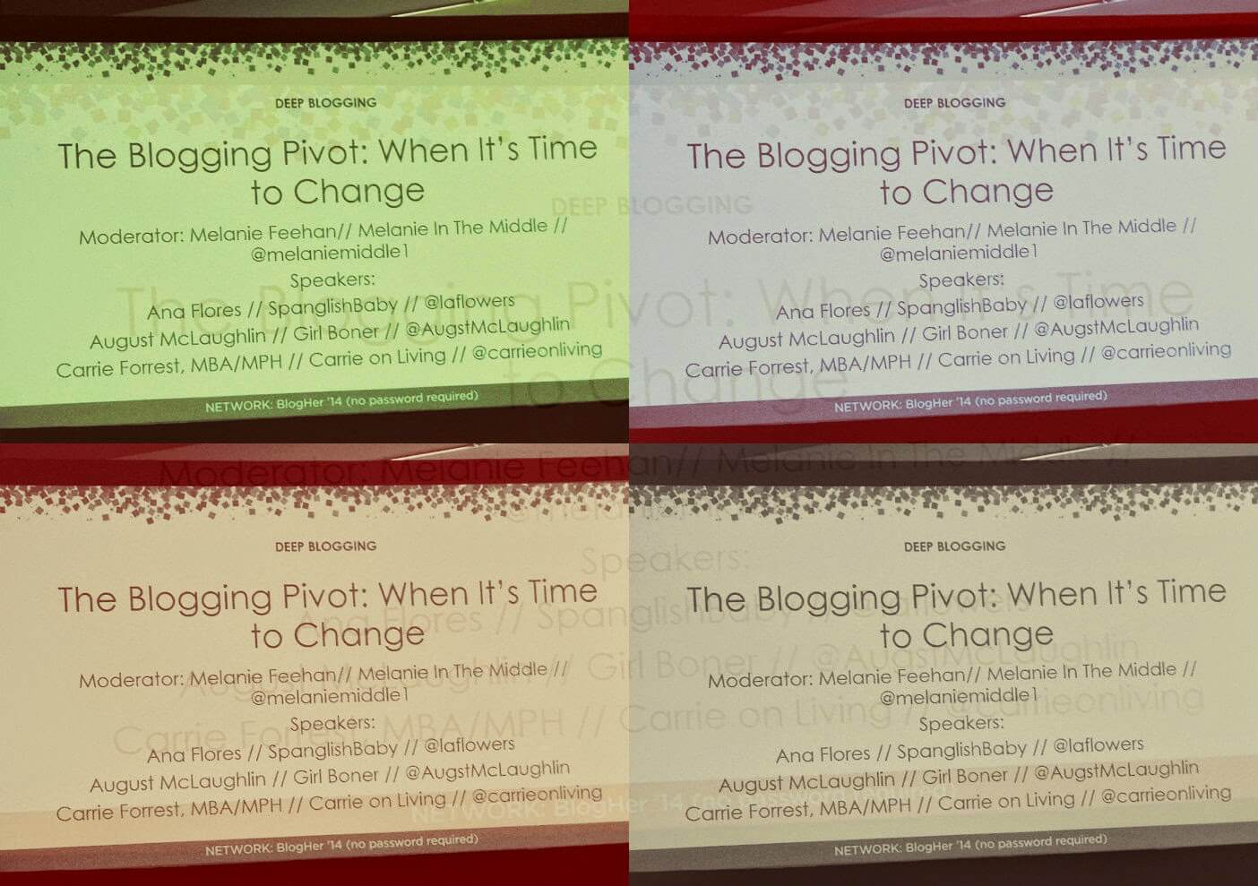 My #BlogHer14 Takeaways: Sessions, Sponsors, Reactions, Conclusions